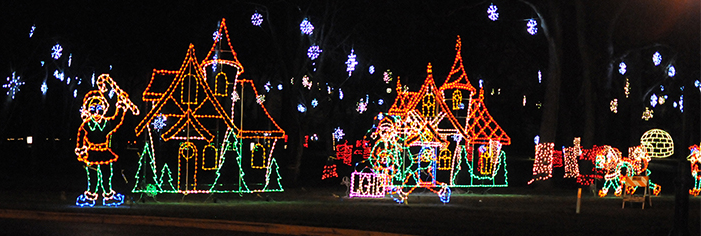 10th Anniversary Festival of Lights at Aurora's Phillips Park