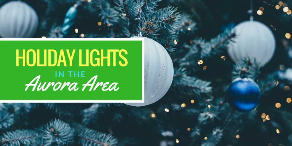 Holiday Lights in the Aurora Area