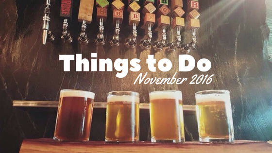 Things to Do in the Aurora Area, November 2016