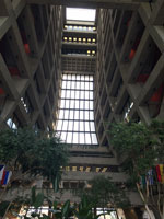 Day 2 Architecture Tour - Wilson Hall at Fermilab