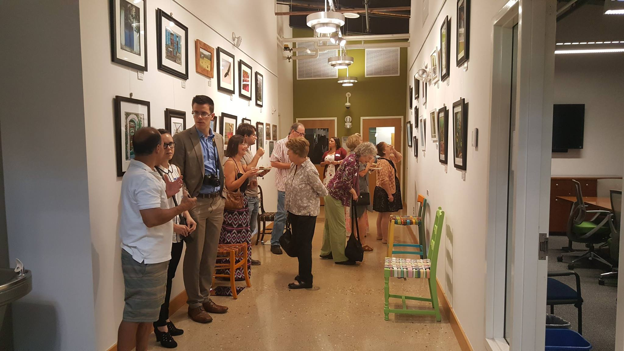 Gallery 125 at Sugar Grove Library