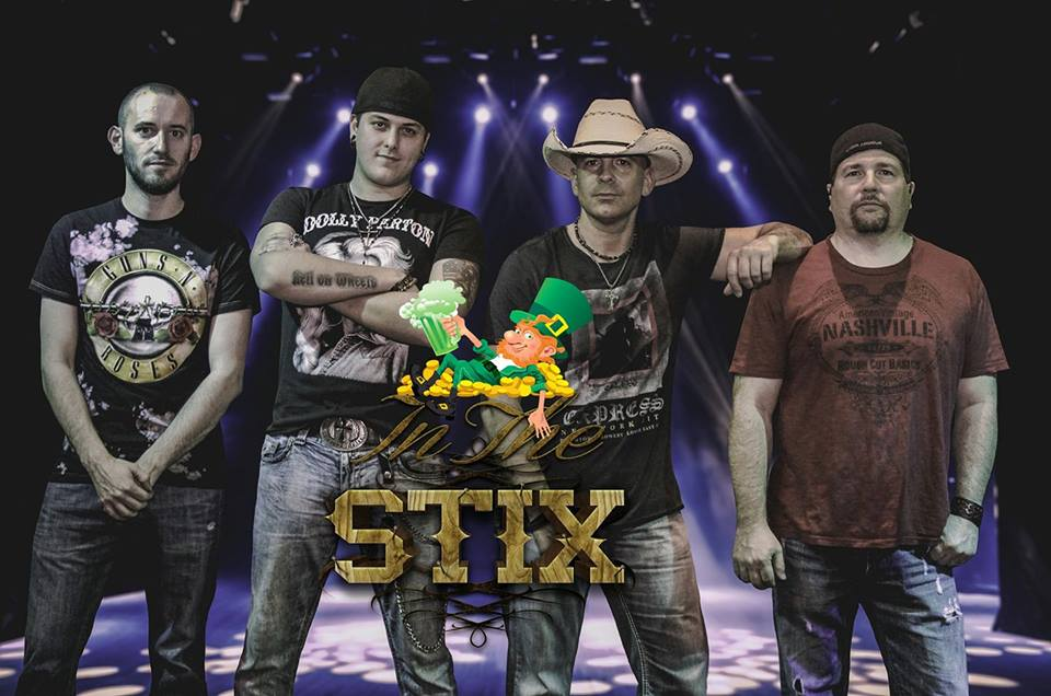 In The Stix - St. Patty's Day Country Party at the Roundhouse