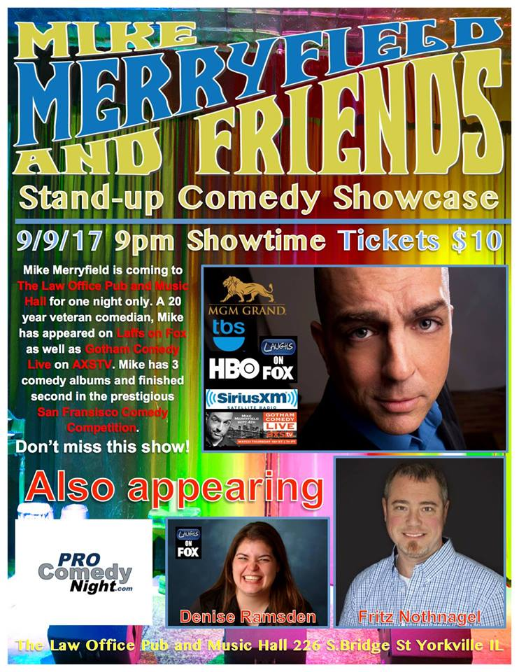 Mike Merryfield & Friends - Stand-up Comedy Showcase