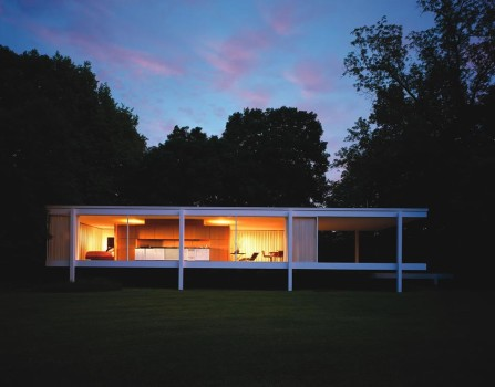 Moonlight Tour of Farnsworth House