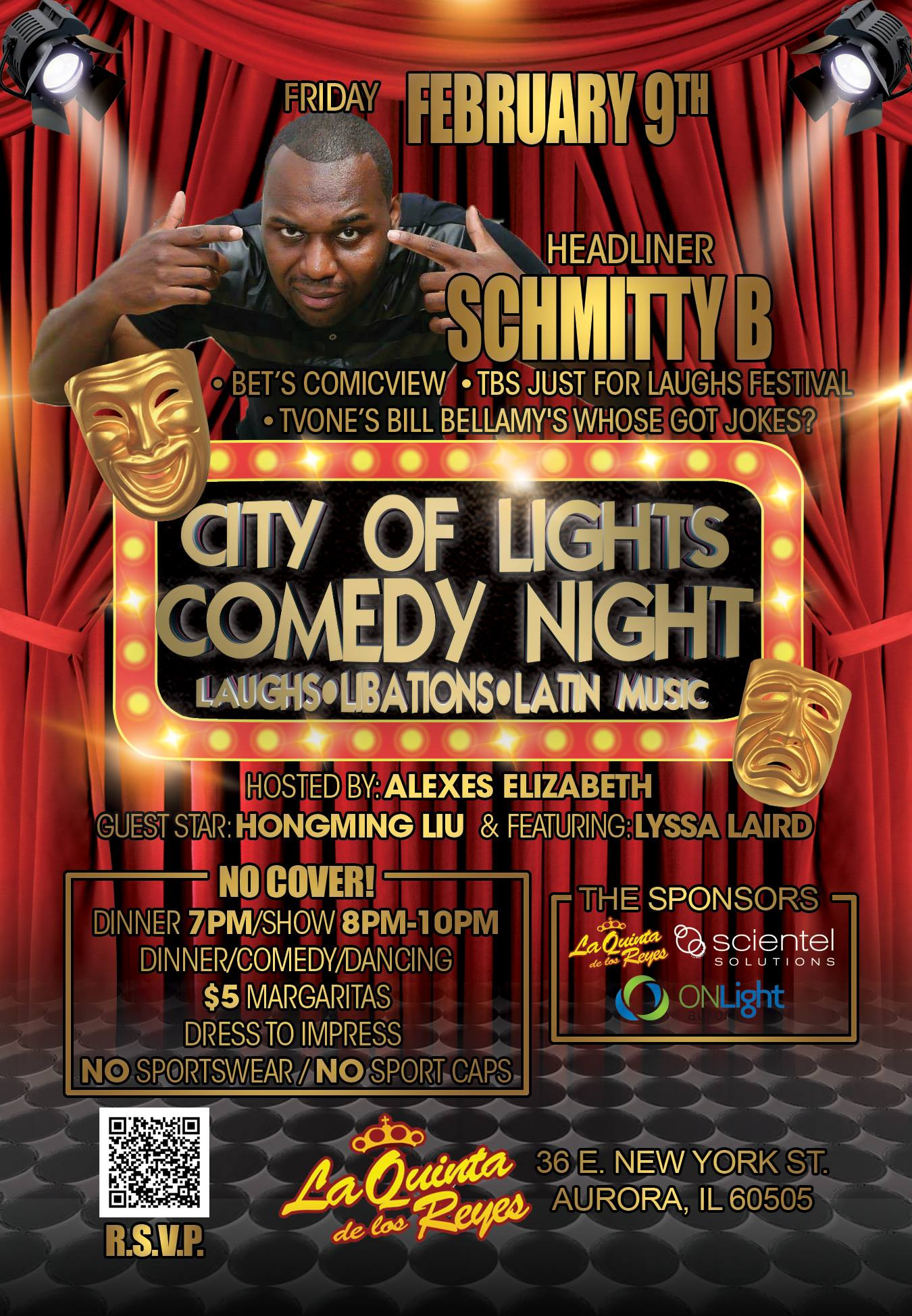 The City of Lights Comedy Night