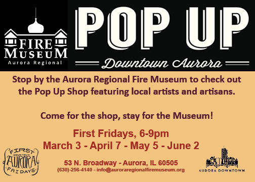 Pop-Up Shops @ the Fire Museum