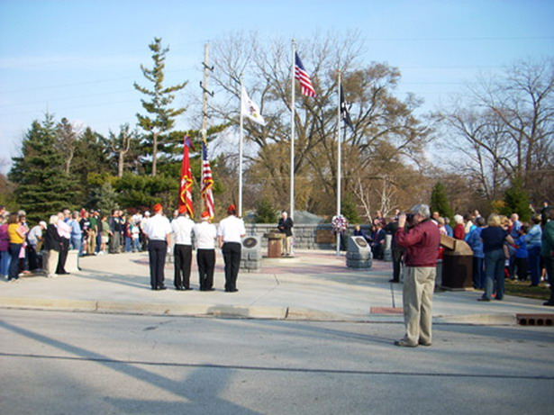 North Aurora Honors Veterans