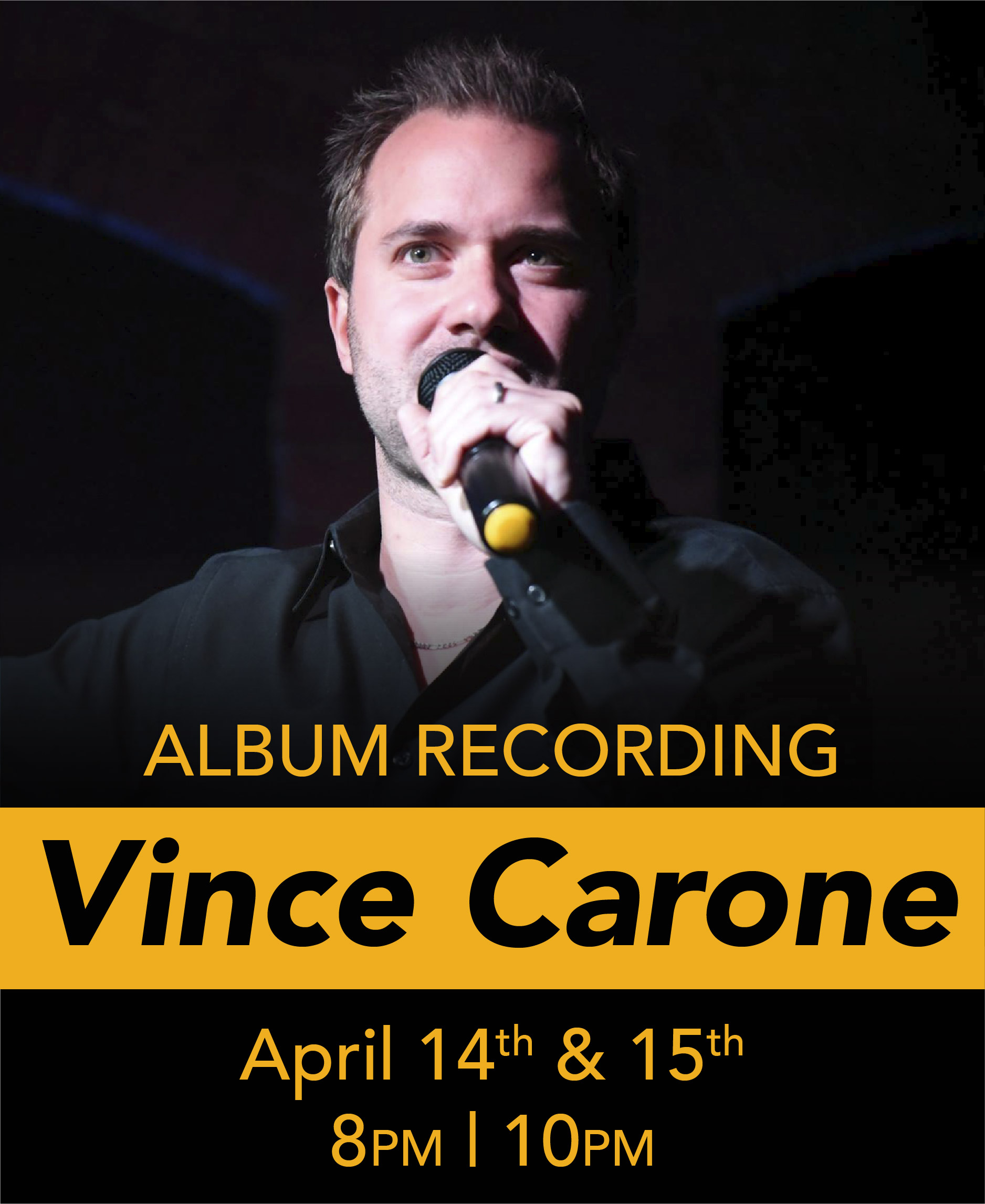 Vince Carone Album Recording @ the Shrine