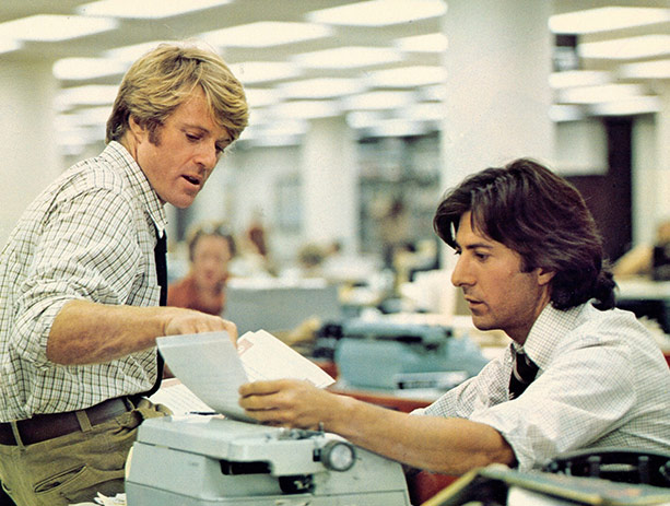 All The President's Men (1976) on the Paramount Screen