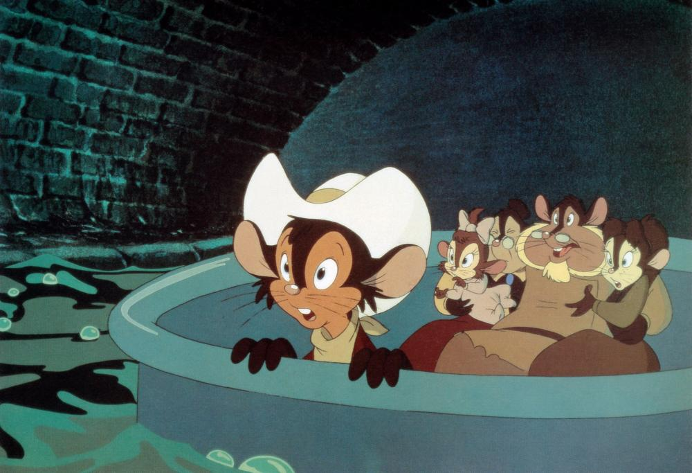 Classic Movie Monday: An American Tail - Fievel Goes West (1991)