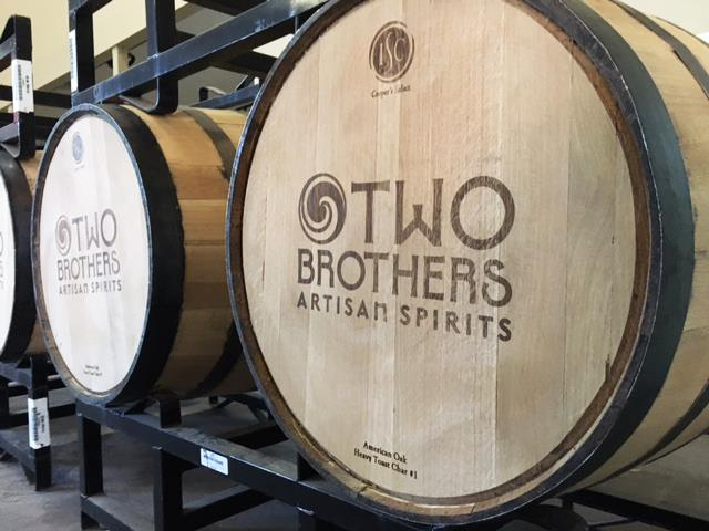 Two Brothers Artisan Spirits Distillery Tour