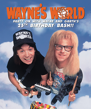 Aurora's Wayne's World Celebration: 25 years!