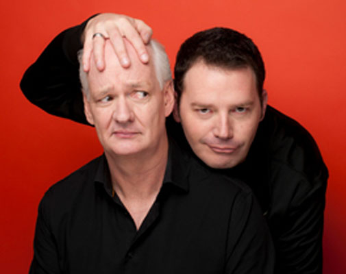 Two Man Group: Colin Mochrie and Brad Sherwood at the Batavia Fine Arts Centre