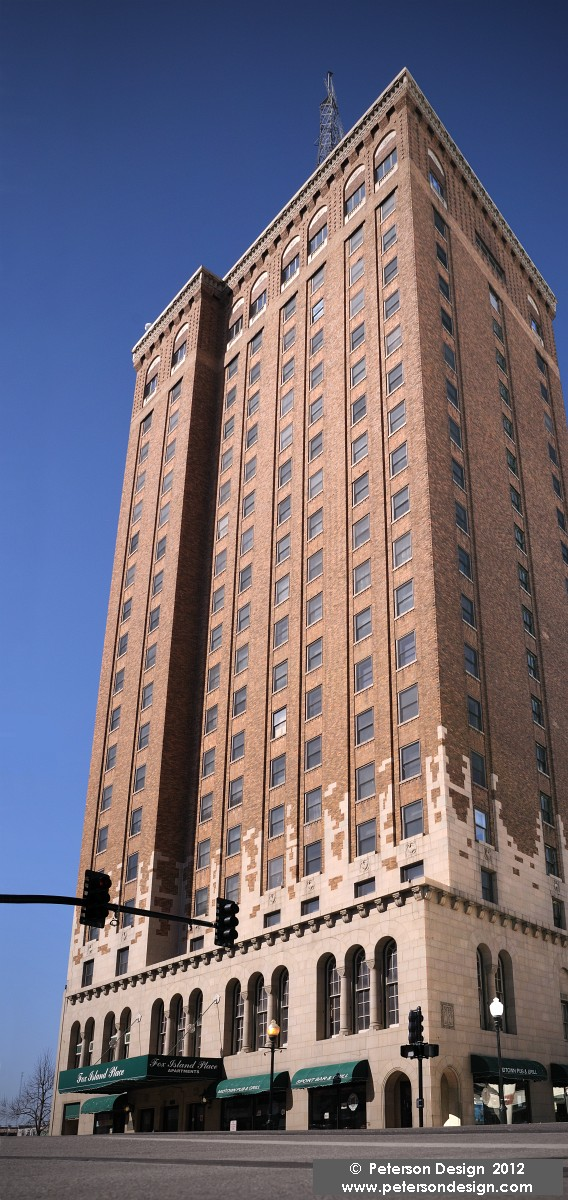 Leland Tower, 1928