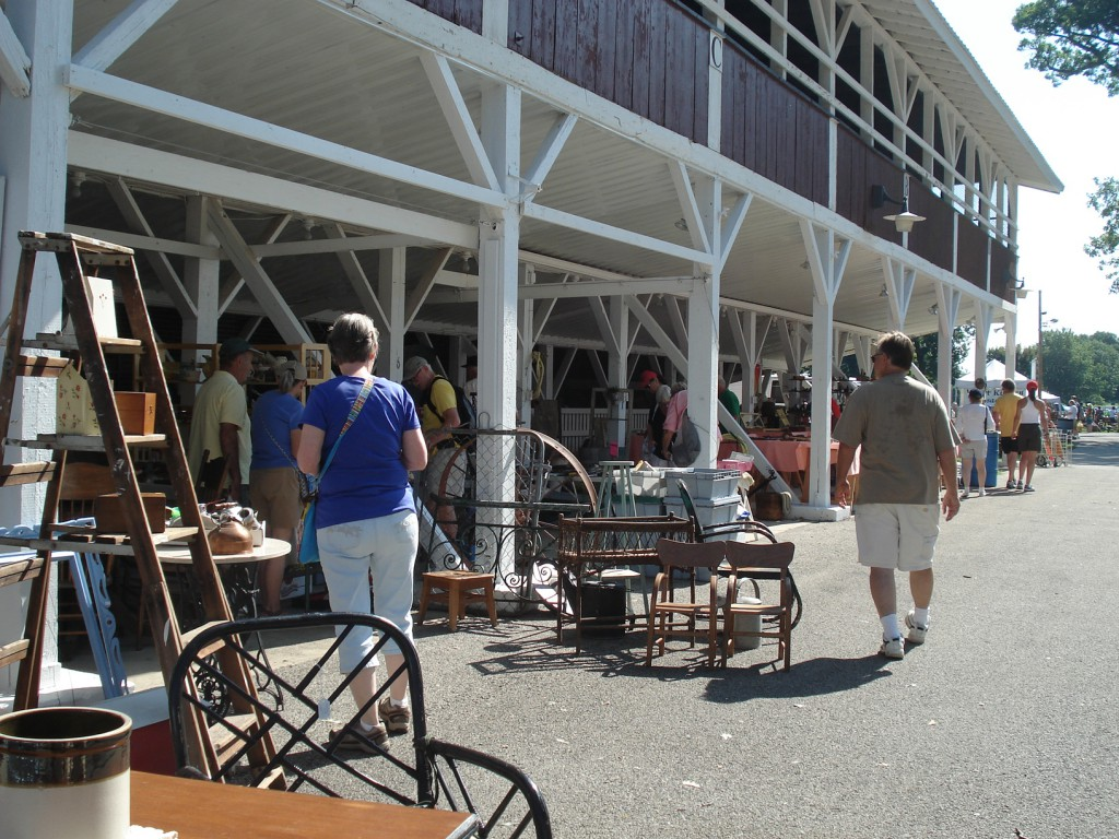 Sunday at Sandwich Antiques Show