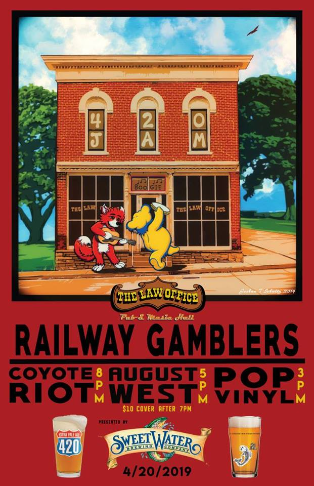 Railway Gamblers / August West @ The Law Office