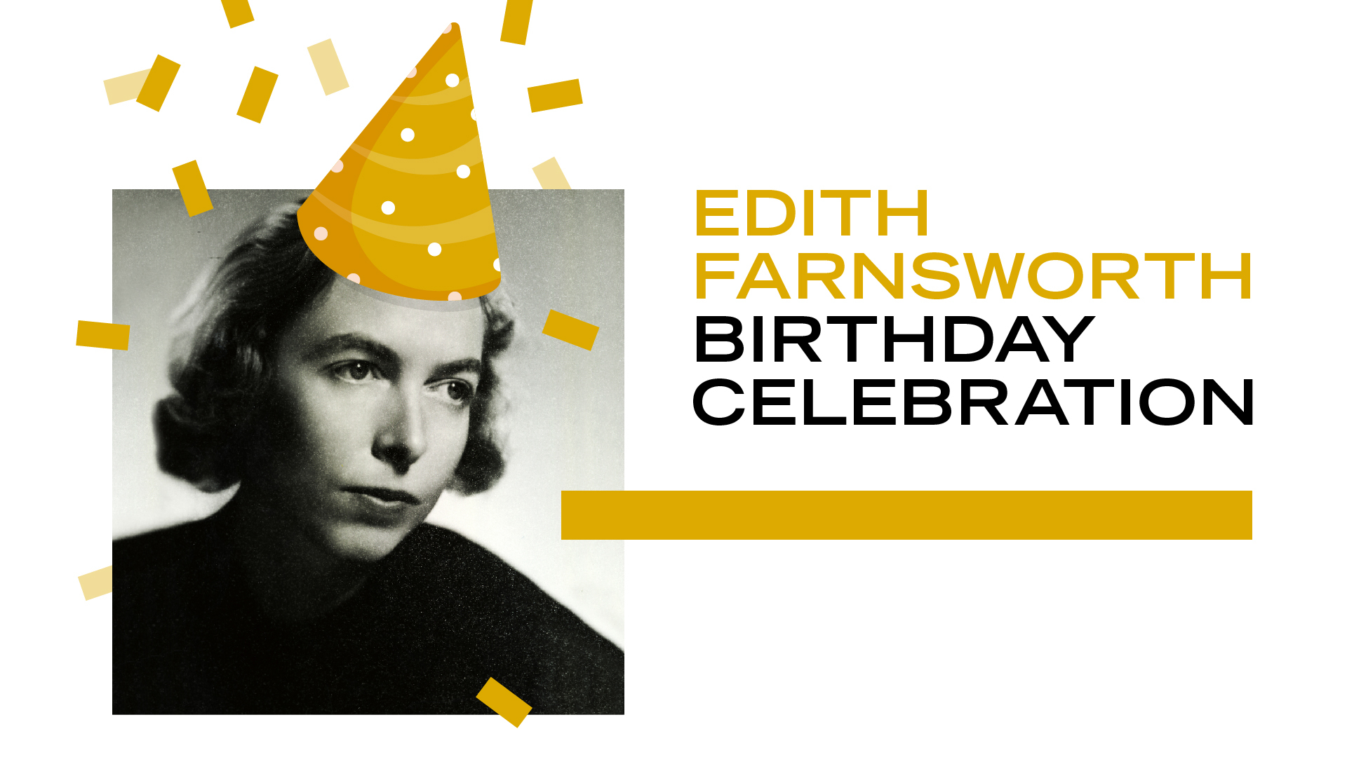 Edith Farnsworth's Birthday Celebration