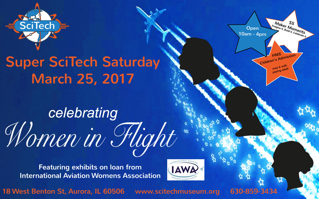 Super SciTech Saturday - Females in Flight