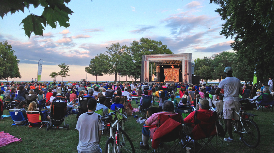 Chicago Shakespeare in the Parks @ RiverEdge Park
