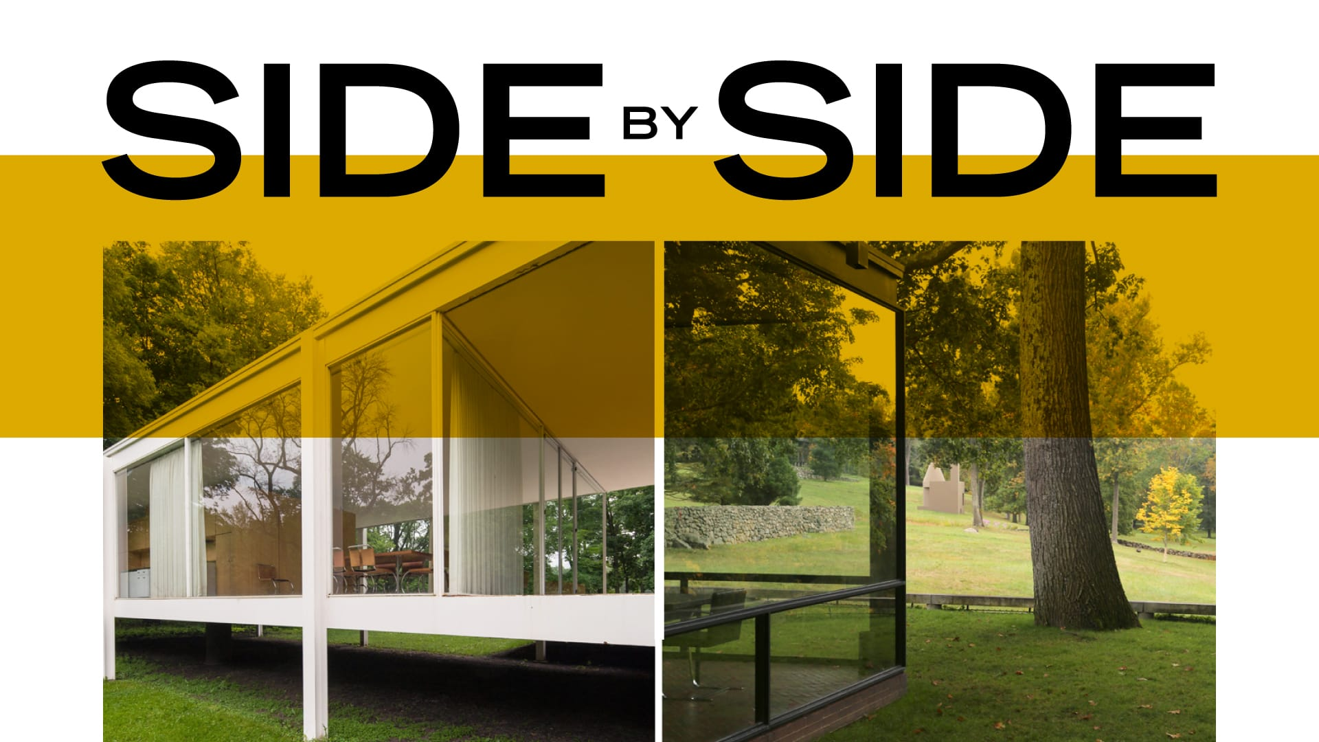 Side by Side: Farnsworth House and the Philip Johnson Glass House