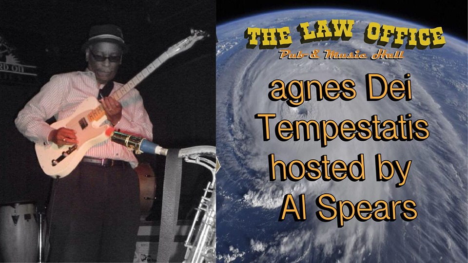 Agnes Dei Tempestatis Blues Jam w/ Al Spears @ The Law Office