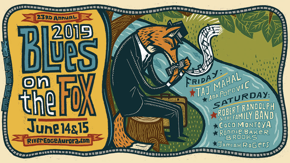 Blues on the Fox 2019
