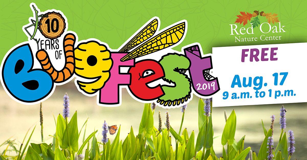 Bug Fest @ Red Oak Nature Center
