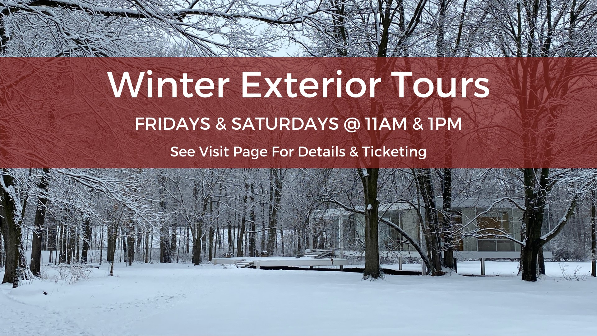 Winter Exterior Tours