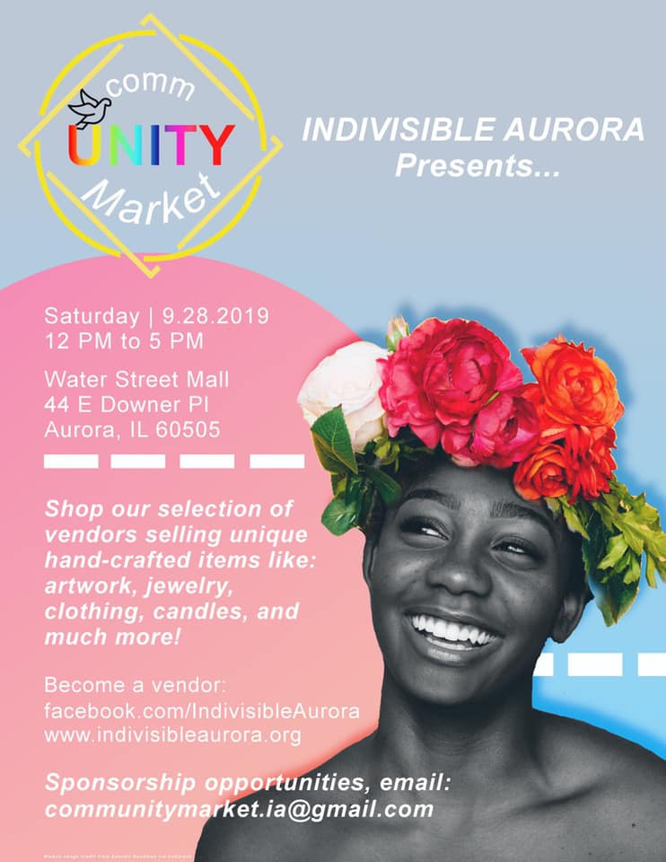 commUNITY Market presented by Indivisible Aurora