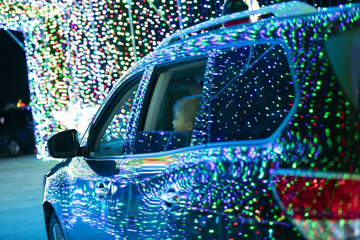 Let It Shine - Drive Through Holiday Light Show at Fox Valley Mall