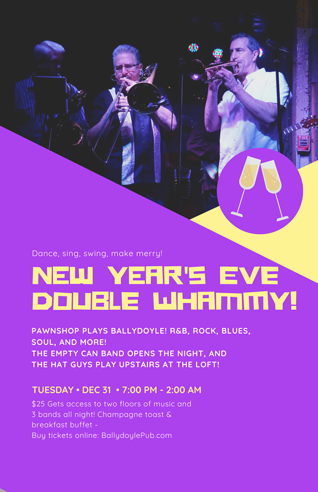 New Year's Eve Double Whammy!