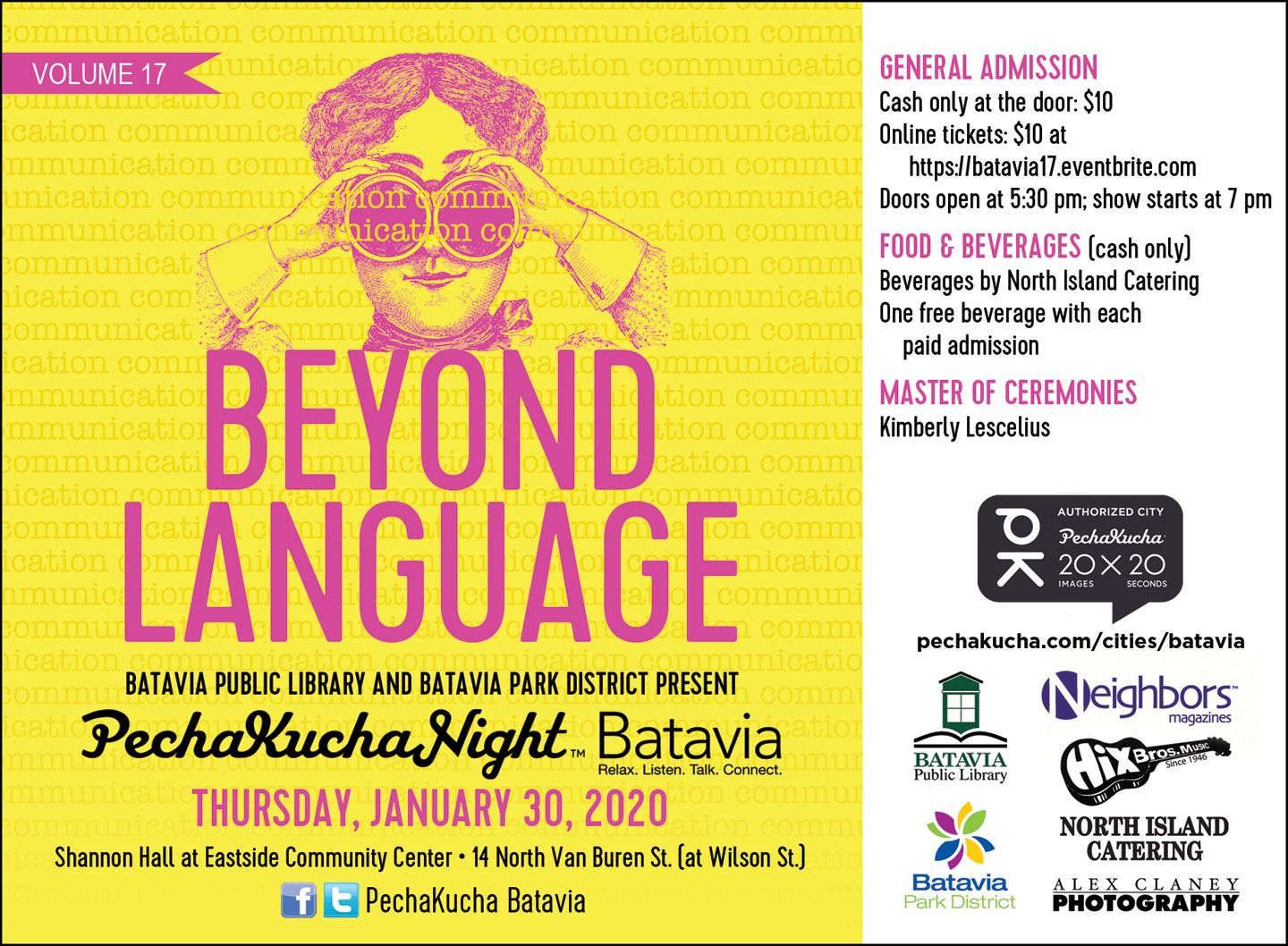 PechaKucha Night in Batavia