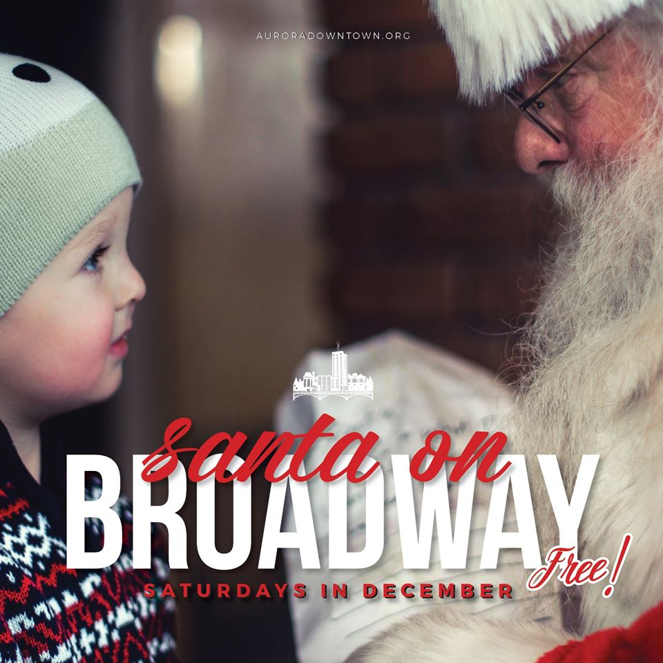 Santa on Broadway