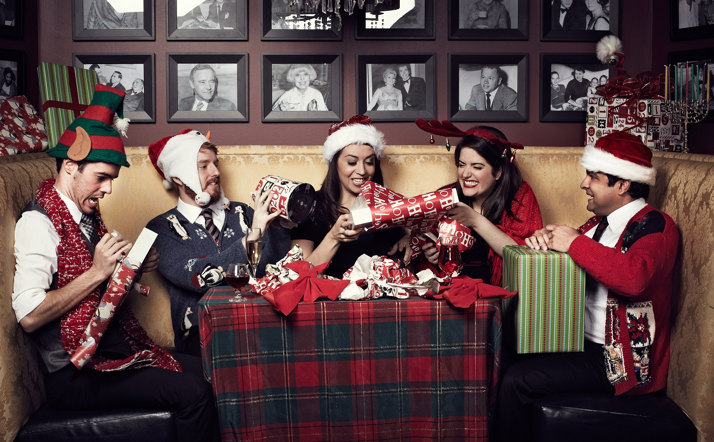 The Second City's Holiday Revue @ Paramount Theatre