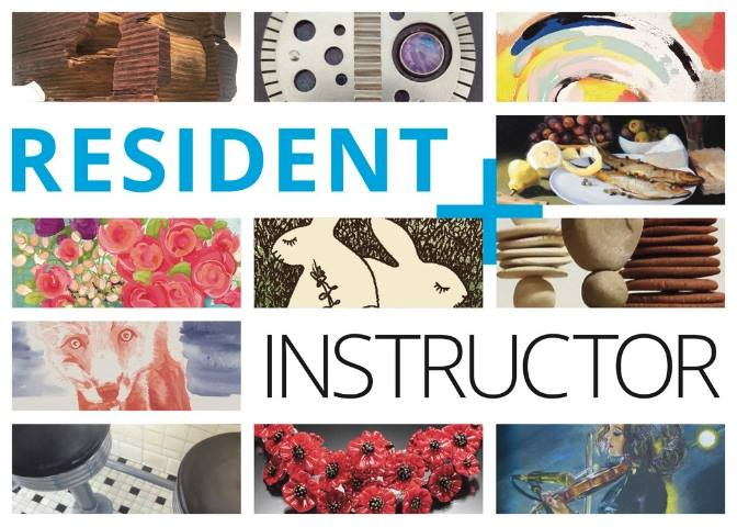 Resident Artist + Instructor Exhibit Opening